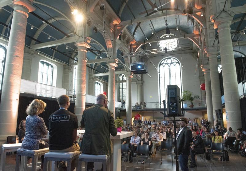 Festival WeMakeThe.City 2019 a Amsterdam.