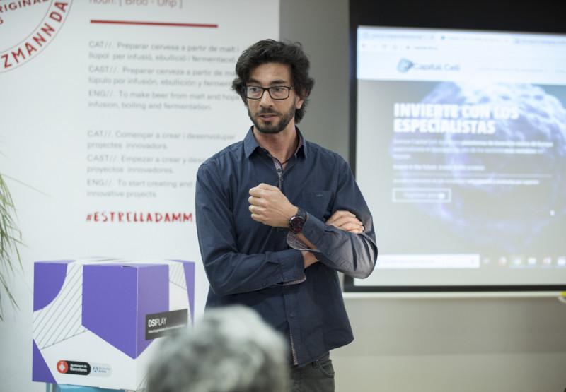 """Un moment de la trobada DSIPLAY """"Nous models d'incubació i finançament per a projectes socials innovadors"""""""