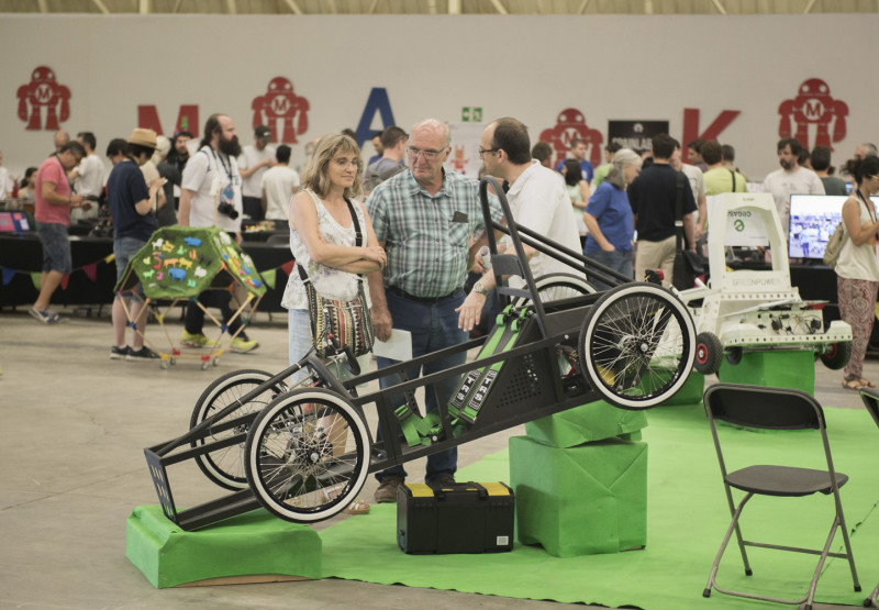 Maker Faire Barcelona.