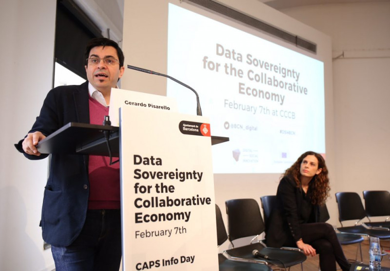 Inauguració de les jornades europees sobre innovació social digital.
