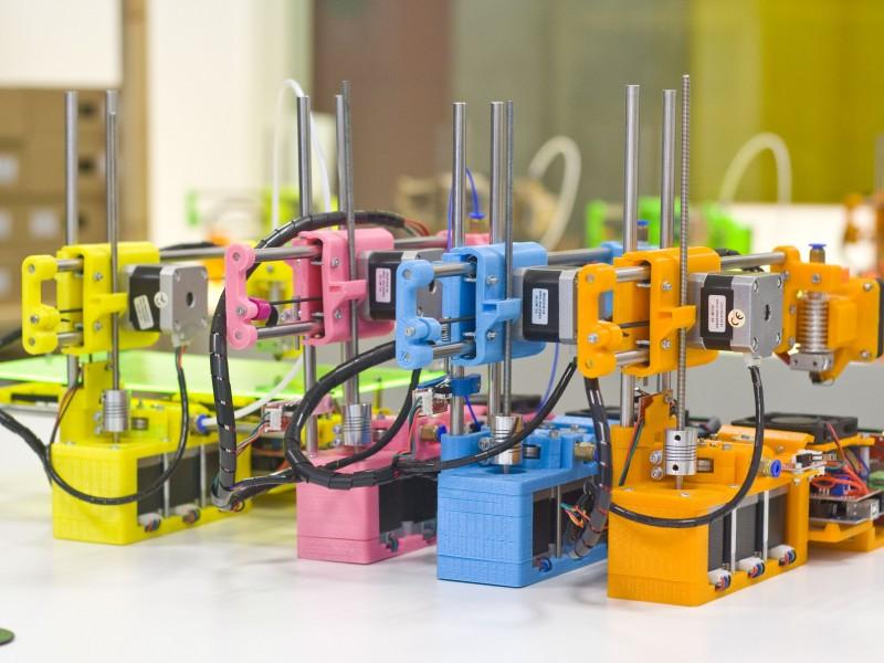 Impressores 3D. Foto de FormBytes© 2017