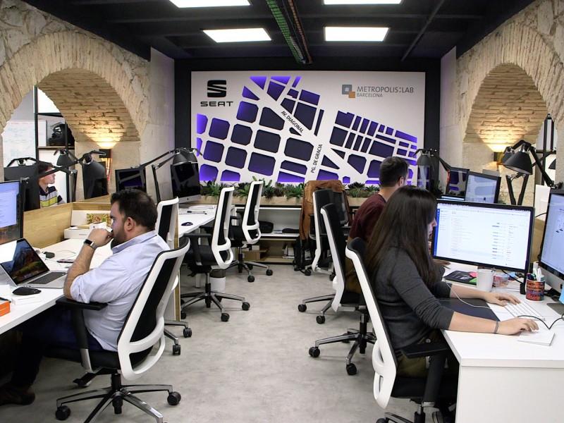 Instalaciones del Barcelona Tech City.