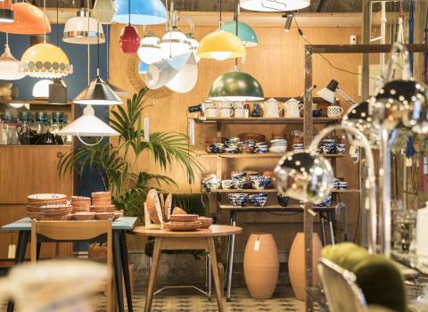 Interior de una tienda en Ciutat Vella (Barcelona)