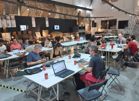 """The fourth workshop of the DECODE pilot project """"Citizen Science Data Governance (IoT)""""."""