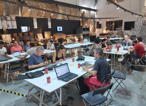 """Quart taller del pilot de DECODE """"Governança de dades de ciència ciutadana (IoT)""""."""