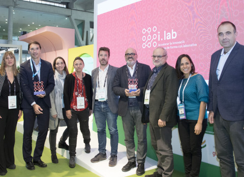 Acte de presentació dels guanyadors dels reptes i.lab.