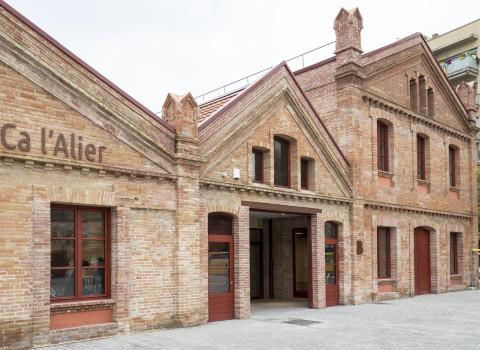 Ca l'Alier, headquarters of the BIT Habitat Foundation