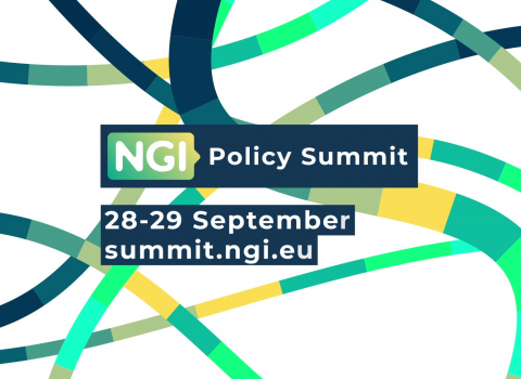 Imatge oficial del Next Generation Internet Policy Summit (NGI).