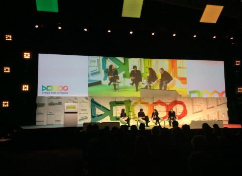 Imatge d'una de les trobades de l'Smart City Expo World Congress 2016,