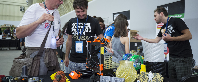 Un moment de la Maker Faire Barcelona 2018.