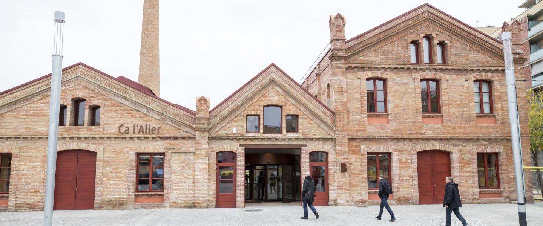 Ca l'Alier, sede del laboratorio de innovación urbana i.lab.
