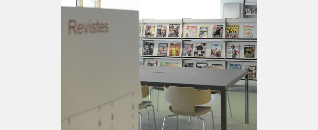 Biblioteca El Clot-Josep Benet. Autor: Jordi Casañas