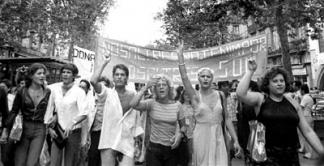 fotografia manifestació 1977