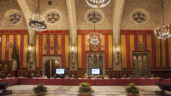 fotografia sessió consell de les dones de barcelona