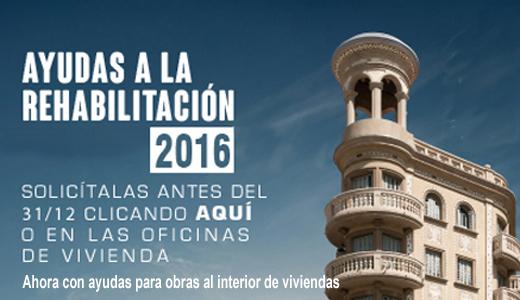 Ayudas para la rehabilitación de edificios 2016