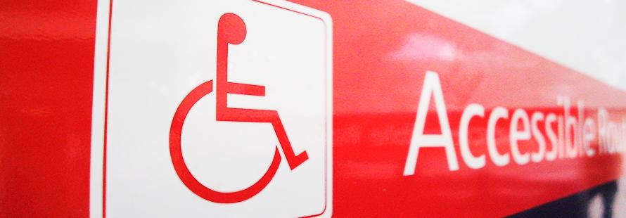 Cartell de lloc accessible