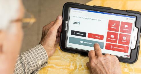 Nou model de relació digital amb la gent gran