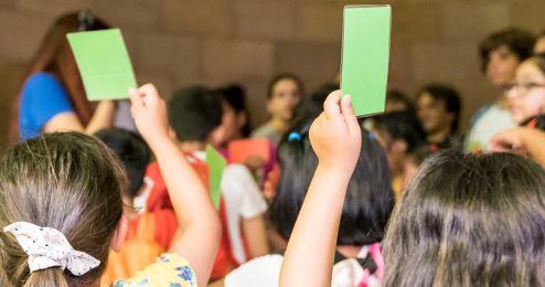 Participación de niños y niñas y adolescentes en los barrios (cocreación)