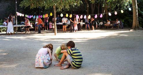 Participación de niños y niñas y adolescentes en los barrios de la Marina