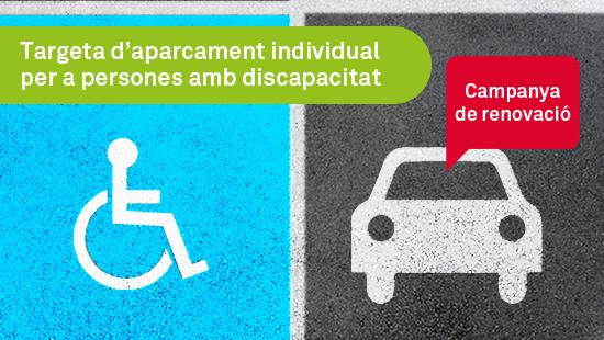 Renovación de la tarjeta de aparcamiento individual para personas con discapacidad