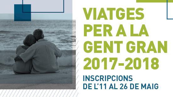 Viajes para las personas mayores 2017-2018
