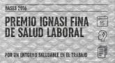 Premio Ignasi Fina de Salud Laboral 2016. Bases