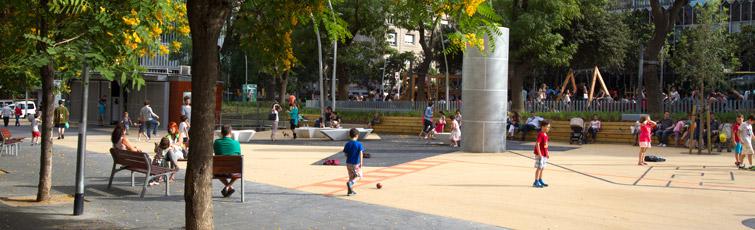 Areas De Juego Infantil Ecologia Urbanismo Y Movilidad