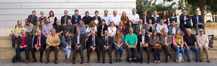 Foto de grup del Consell Ciutadà per la Sostenibilitat