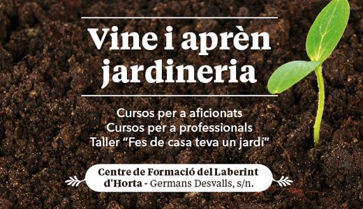 Banner Cursos Jardineria
