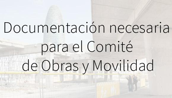 Documentación Comité Obras