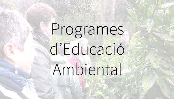 Programes d'Educació Ambiental