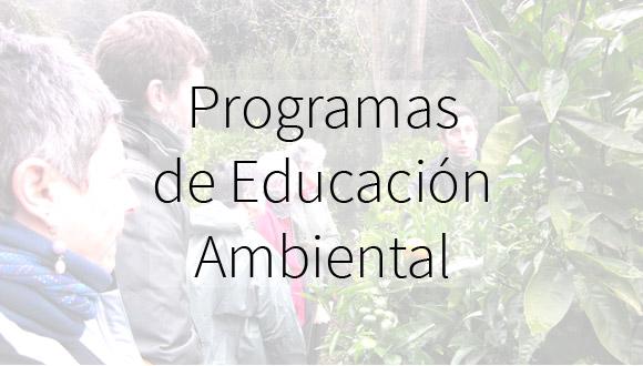 Programas de Educación Ambiental