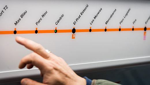 En marxa el nou tram de la línia L9 entre Zona Universitària i l'aeroport de Barcelona – El Prat