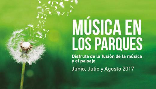 Este verano, la música la encontraréis en los parques