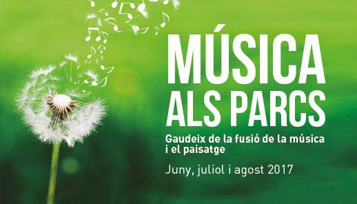 Aquest estiu, la música la trobareu als parcs