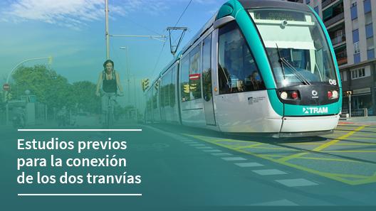 Estudios técnicos para la conexión de los dos tranvías