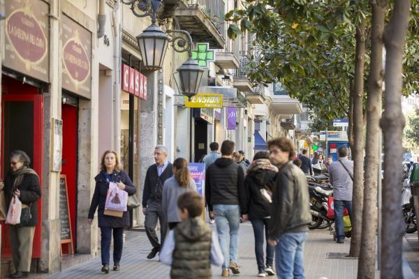 Establiments comercials a Gràcia