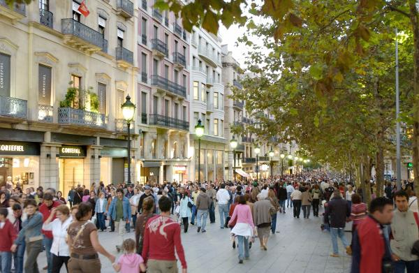 Portal de l'Àngel, Barcelona