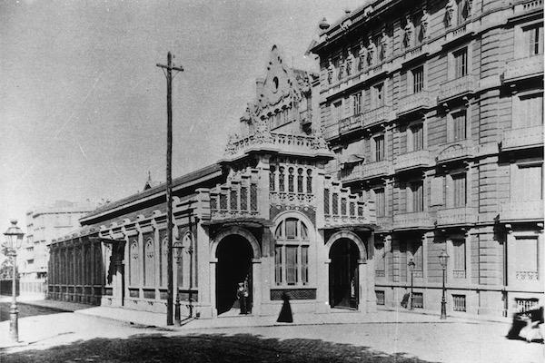 Estación de Balmes de los Ferrocarrils de la Generalitat de Catalunya