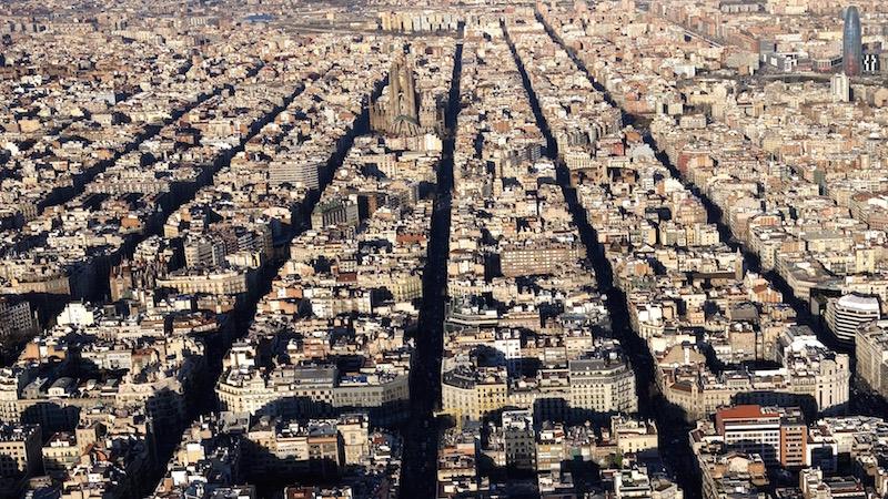 Eixample Dreta Barcelona Mapa.Los Barrios L Eixample Ayuntamiento De Barcelona