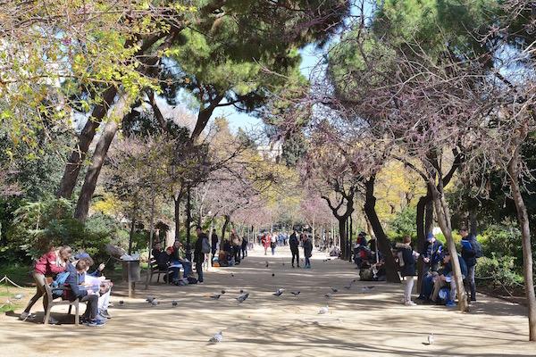 Plaza Sagrada Familia