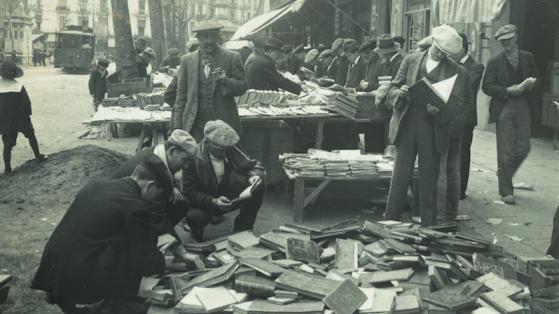 Mercado del libro de Sant Antoni