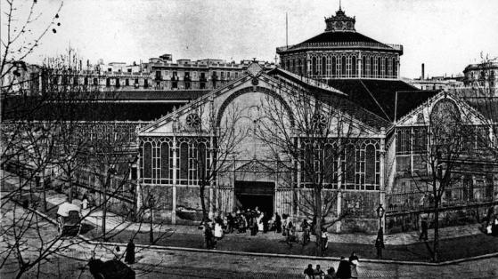 Mercado de Sant Antoni en el siglo XIX