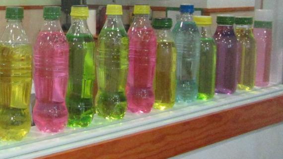ampolles de colors