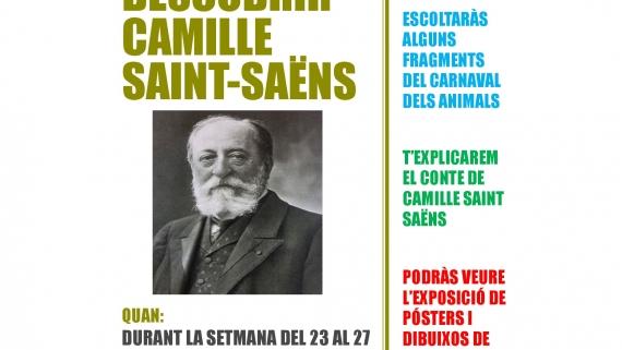 Cartell Setmana Cultural Camille Saint-Saëns