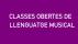CLASSES OBERTES DE LLENGUATGE MUSICAL