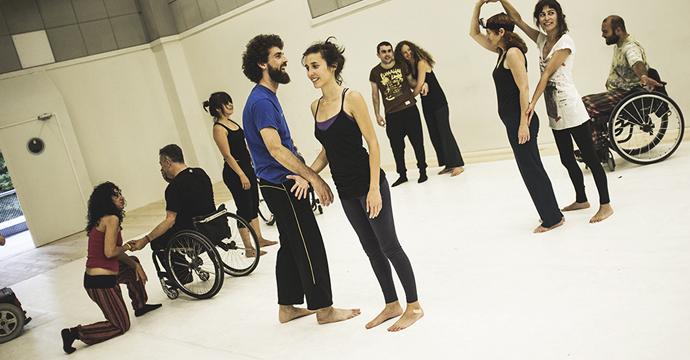 Resultado de imagen de jordi cortes danza inclusiva