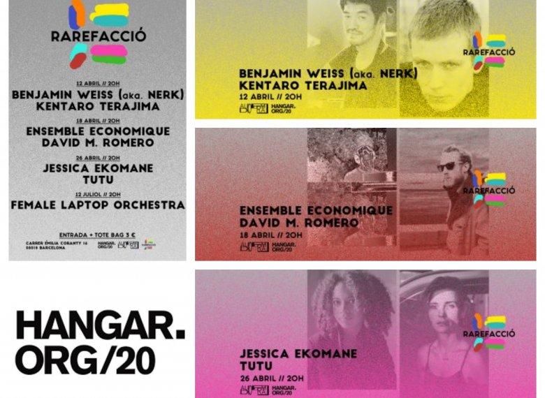 Hangar is launching its auditions season - 'Rarefacció' | Fàbriques