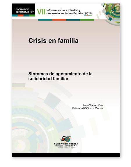 Portada de l'estudi Símptomes d'esgotament de la solidaritat familiar