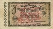 Papiermark issued in 1923